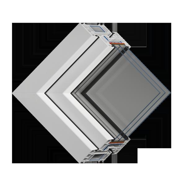 Окно с защитой от шума VEKA